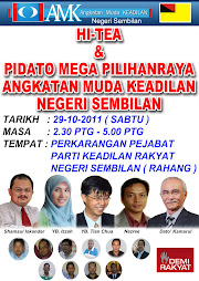 HI-TEA & PIDATO MEGA PILIHANRAYA AMK N. SEMBILAN