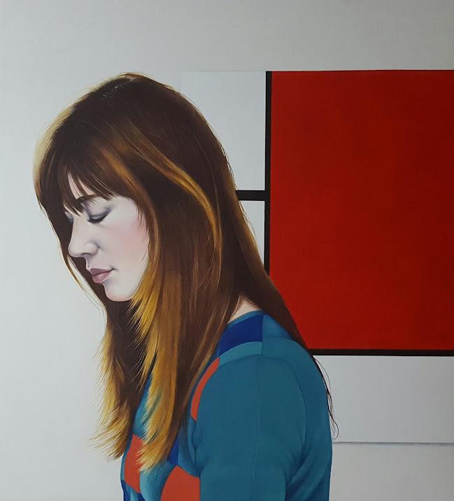 A Francoise le aburre Mondrian