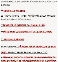 APPELLO AL SINDACO LEONE