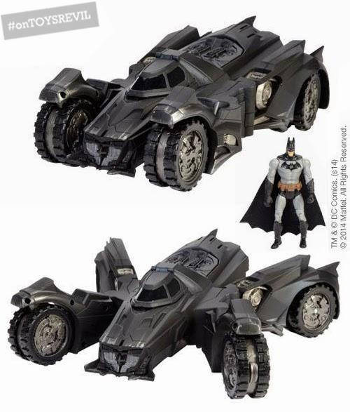 Batmam Batmobile 2005 Dark Knight DC Comics Small 3D Metal Model SD TOYS