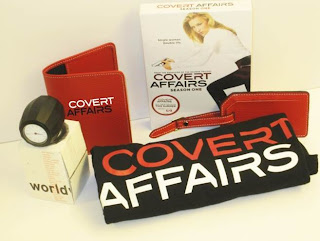 COMPLETED : Enter the SpoilerTV Covert Affairs $215 Fan Pack Giveaway