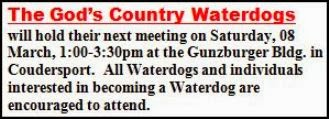 3-8 God's Country Waterdog Meeting