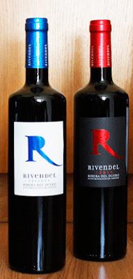 Botellas de Rivendel Crianza y Roble Bodegas el Inicio