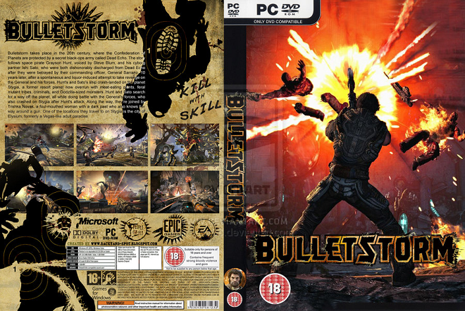 Bulletstorm Game PC