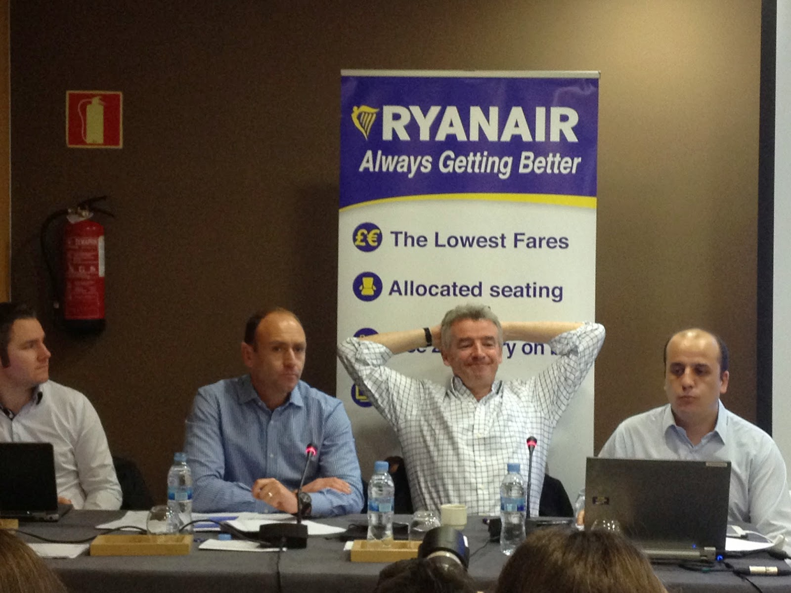 ryanair Michael O´Leary Always Getting Better Precios Bajos Low Cost