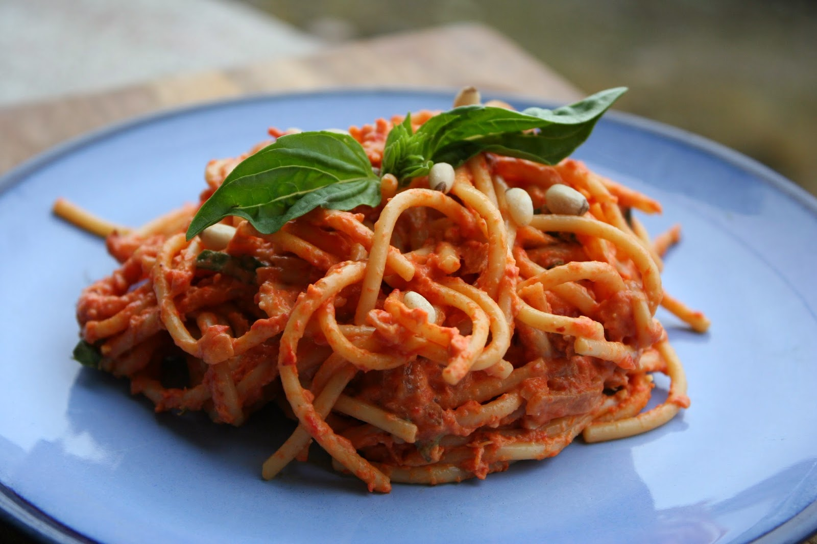 Sweet Luvin' In The Kitchen: Pasta with Roasted Red Pepper ...