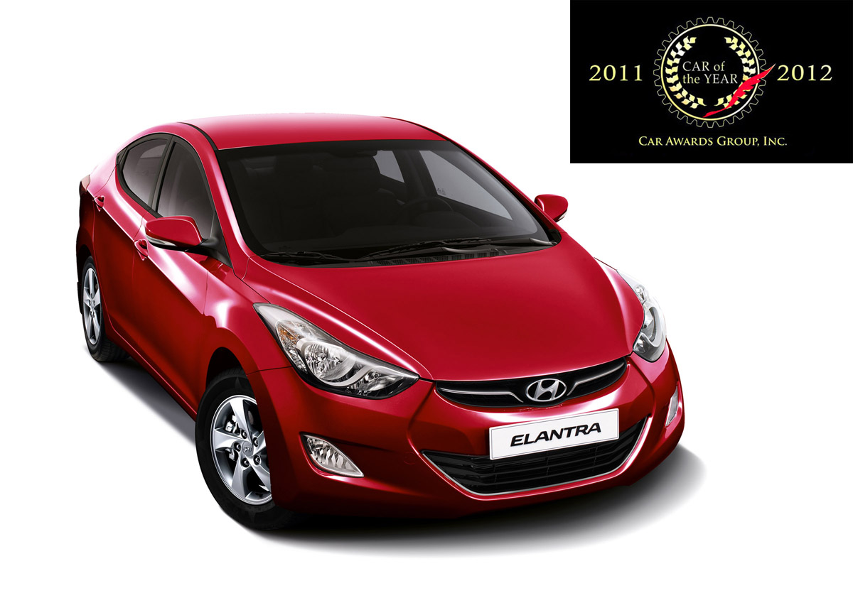 Hyundai Elantra Hailed As The 2011 2012 Car Of The Year