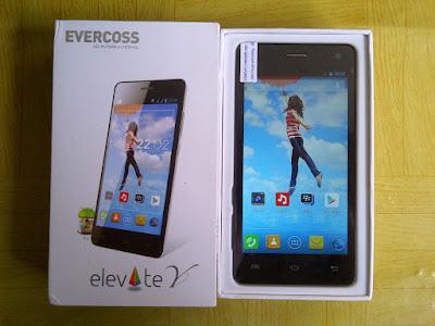 Harga dan Spesifikasi HP Evercoss A66A Elevate Y