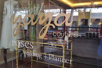 #Boutique Review : Yaya Rosly Couture wedding+fashion = planner