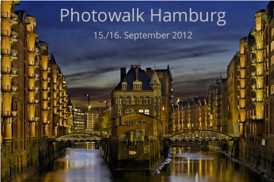Bild für den Photowalk Hamburg, der am 15. und 16. September 2012 stattfindet