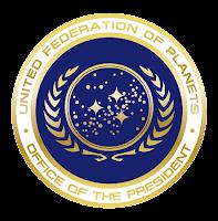 Selo presidencial Federação Unida de Planetas
