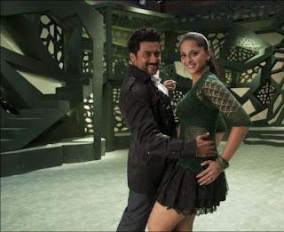 Anushka Shetty cute beautiful pics from movie Singam 2