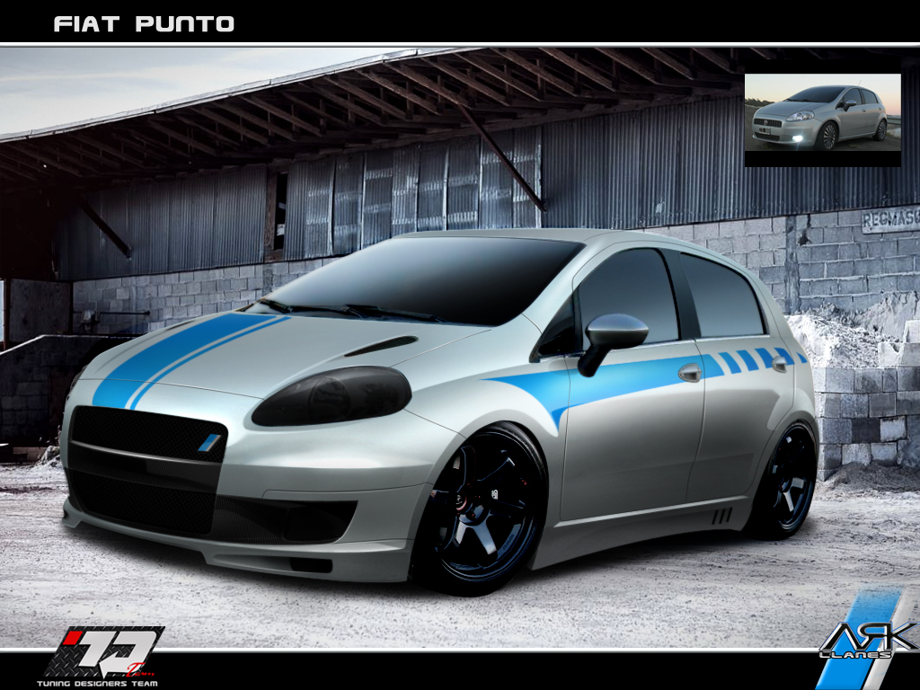 Virtual Tuning Design By Ark Llanes Fiat Punto