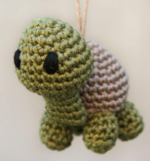 Tartaruga amigurumi