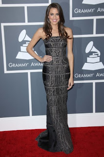 Alison Williams Grammys 2013