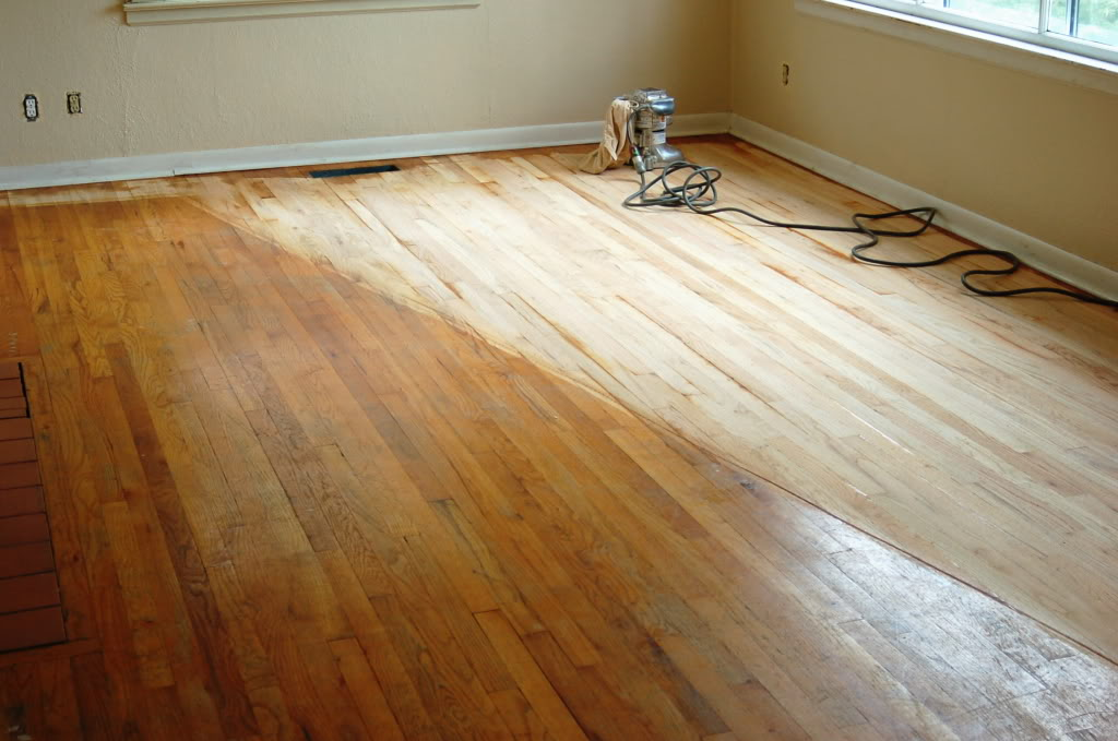 Should i refinish my own hardwood floors should i try and for Sanding hardwood floors