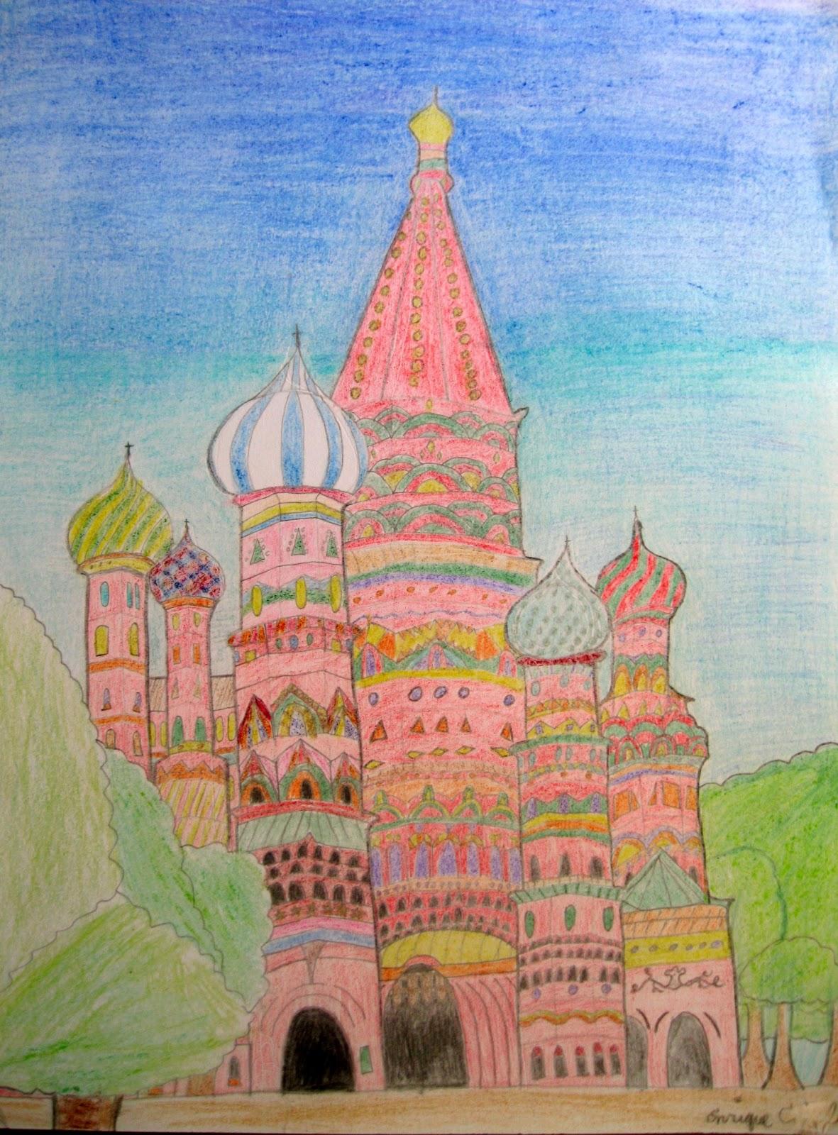 st basil s church in russia art class ideas