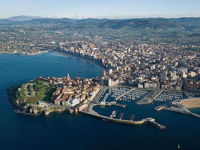 Visita Gijón, España