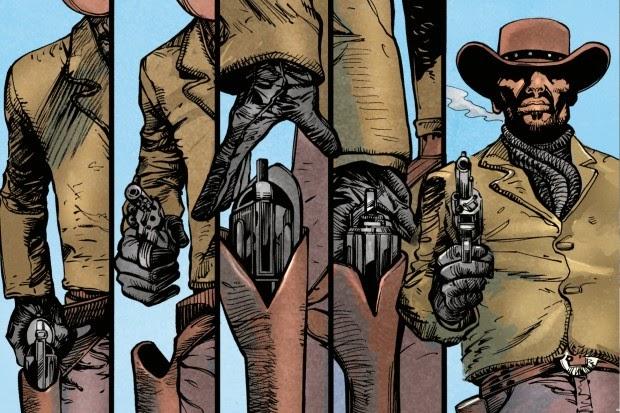 Viñeta del cómic de Django Desencadenado