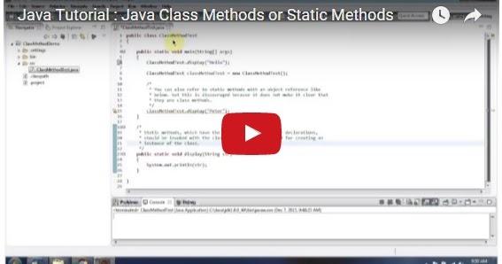 Java ee java tutorial java class methods or static methods for Pool design pattern java