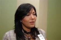 """Geanilda Vásquez  dice Miguel Vargas aplica el dicho popular: """"a Dios rogando y con el mazo dando"""""""