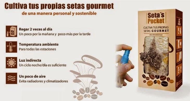 Setas Pocket, Culture des Champignons à la Maison