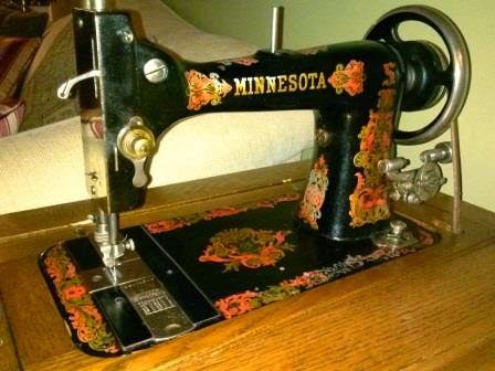 Sewing Machine Mavin Aquarium Treadling Simple Minnesota Sewing Machine Parts