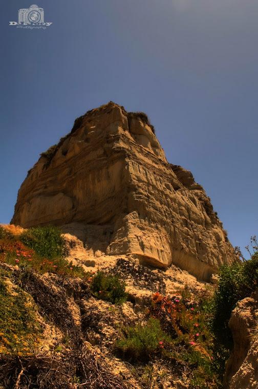 San Clemente Cliff in CA