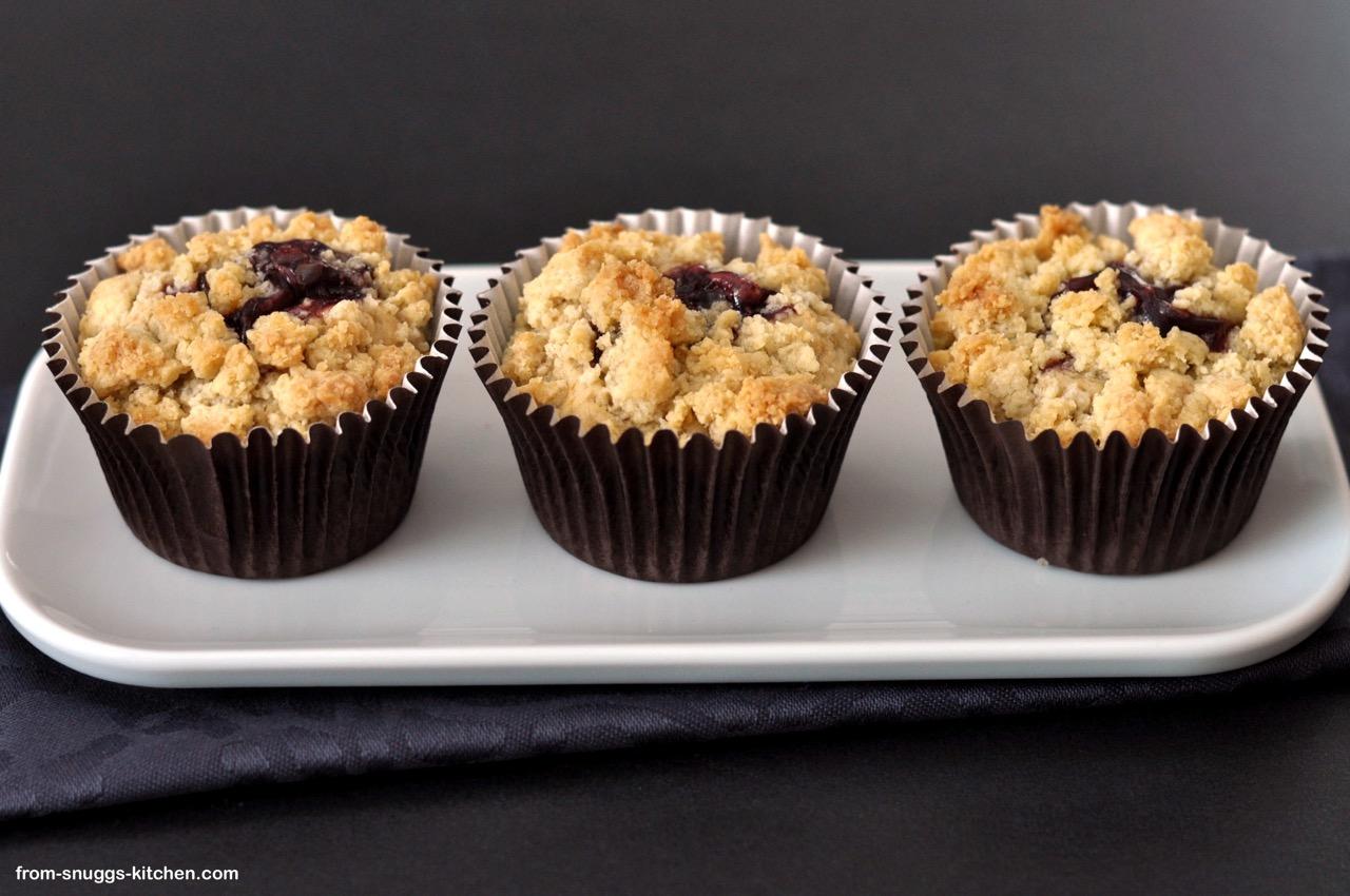 Erdnussbutter & Marmelade Muffins