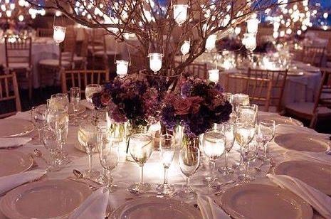 Weddingspies Winter Wedding Centerpiece Ideas Winter Wedding