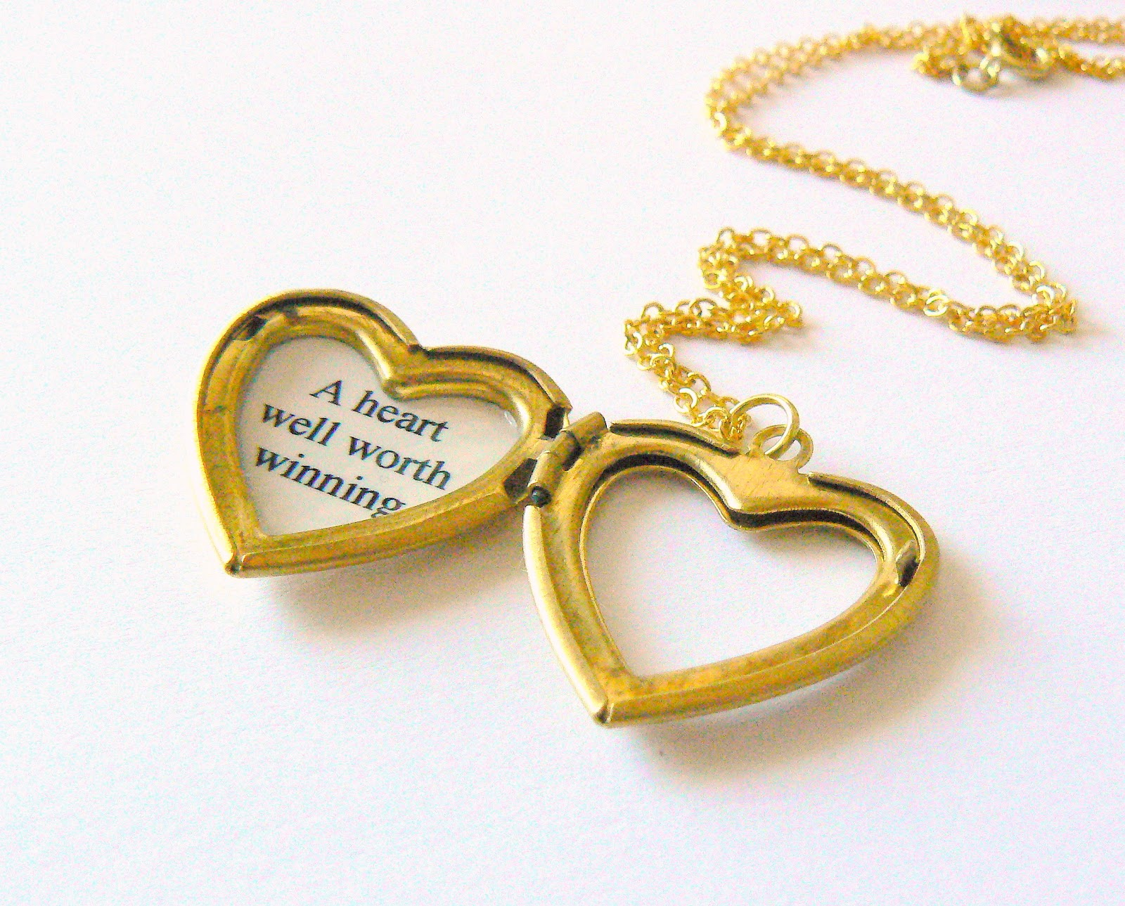 pink necklace locket lockets wid open product heart