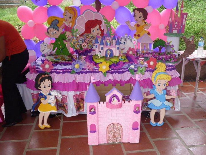 Fiestas infantiles princesas bebes parte 1 - Decoraciones para bebes ...