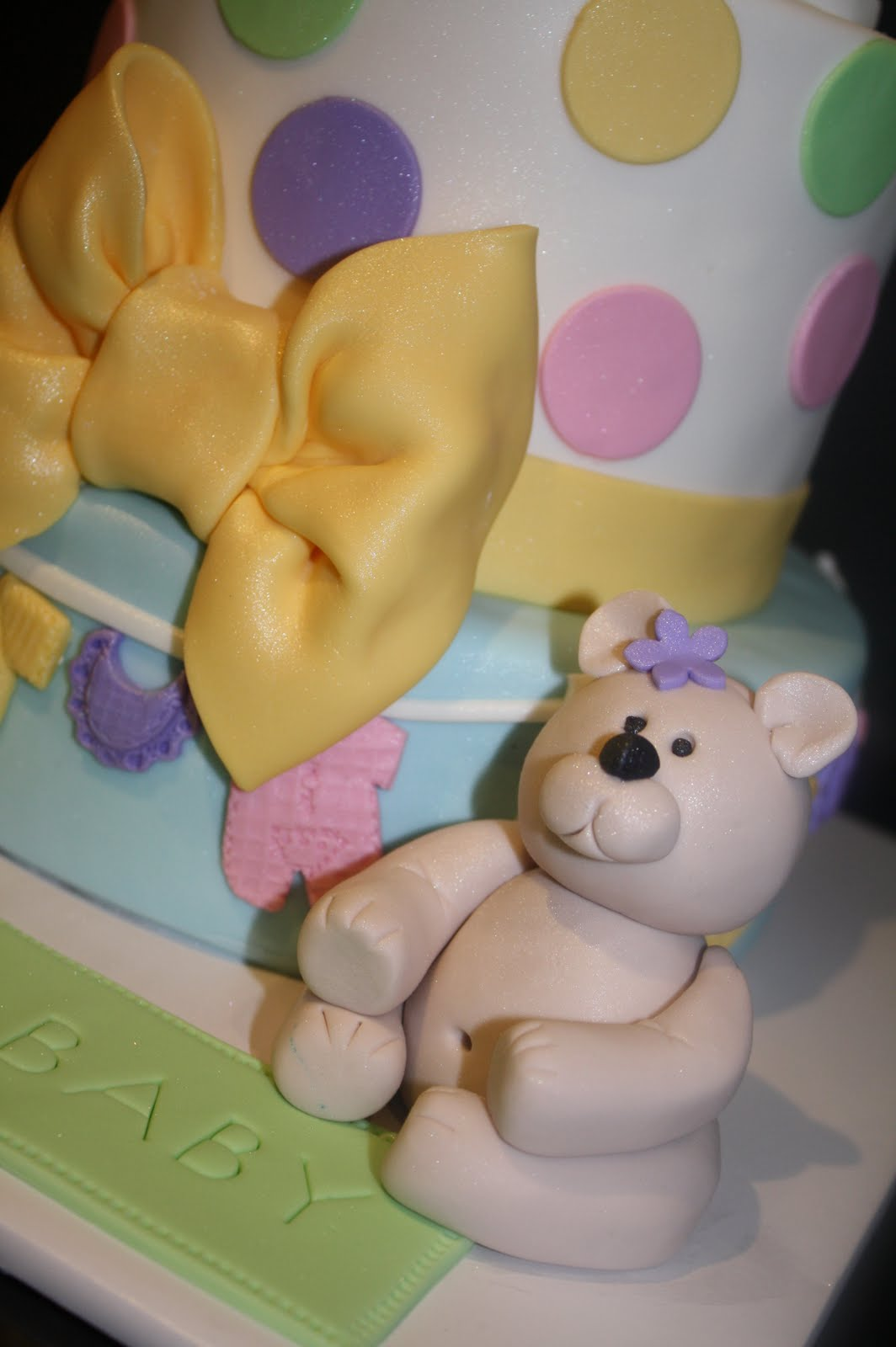 Cute Baby Cake Images : Sandy s Cakes: Cute Baby Shower Cake