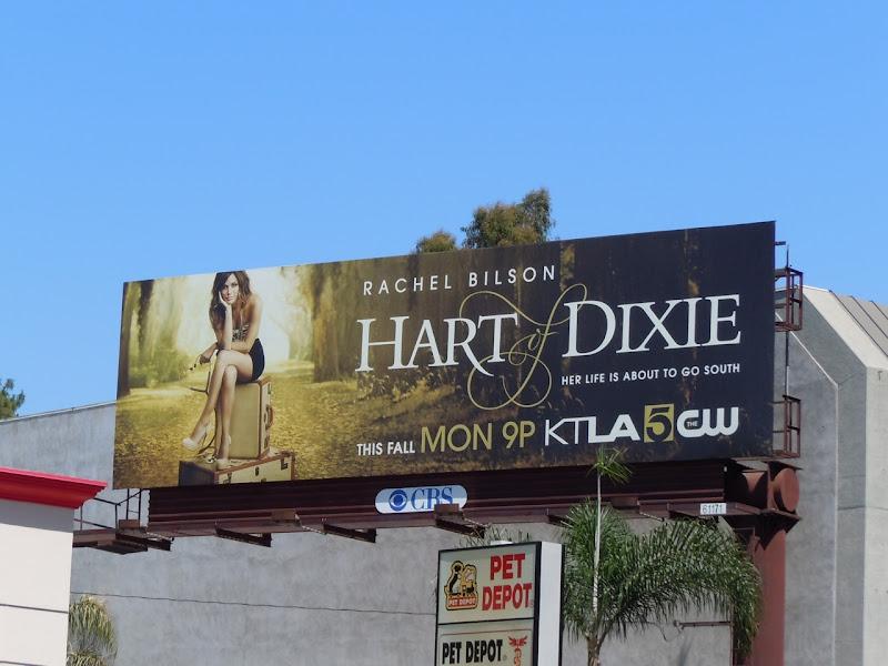 Hart of Dixie TV billboard