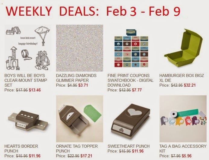 Stampin'UP!'s Weekly Deals