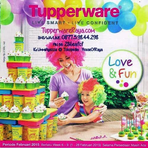Promo Tupperware Februari 2015