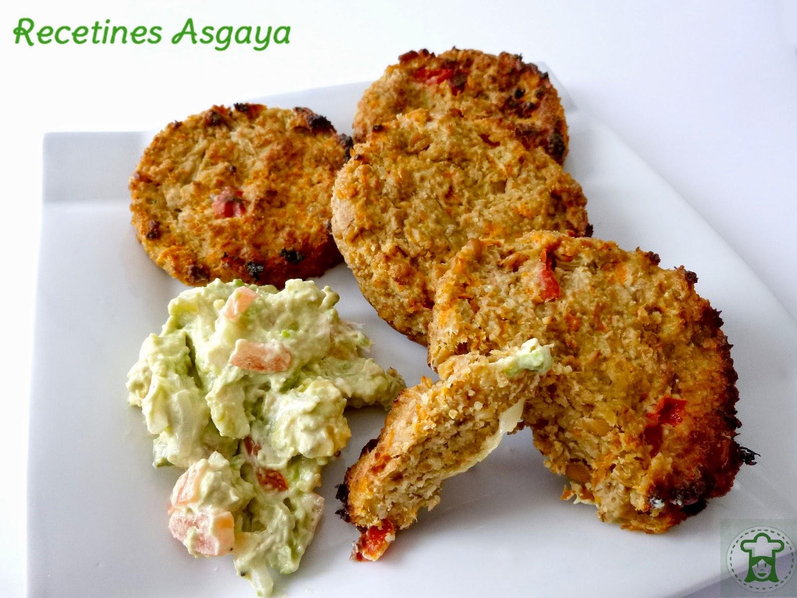 Hamburguesa de espelta y verduras recetines asgaya - Hamburguesa de verduras ...