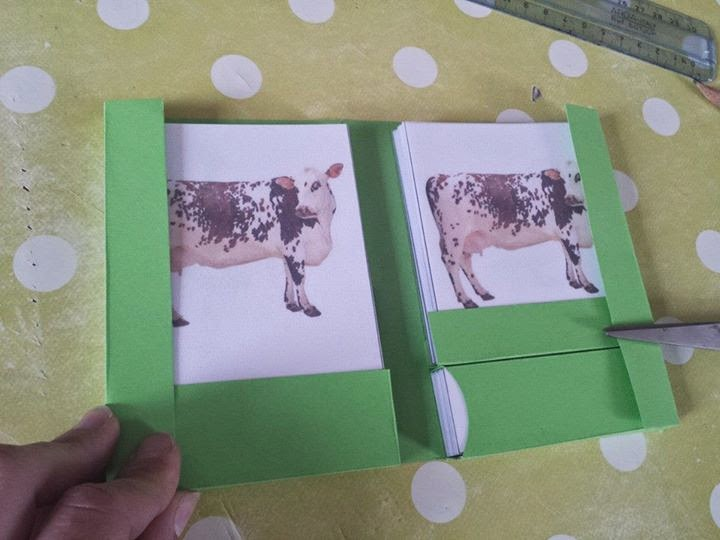 Tutoriel : Fabrication de pochettes pour les cartes en 3 parties