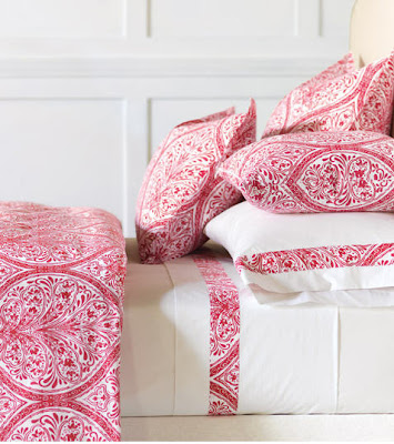 bright red and white damask print sheets duvet covers sheet envy