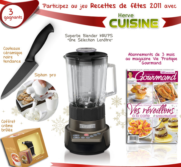 Concours herv cuisine blogs de cuisine - Herve cuisine buche de noel ...