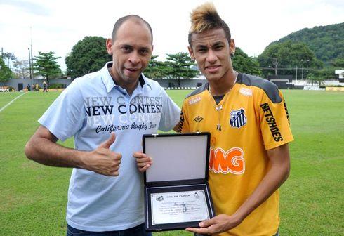 gol de placa do Neymar