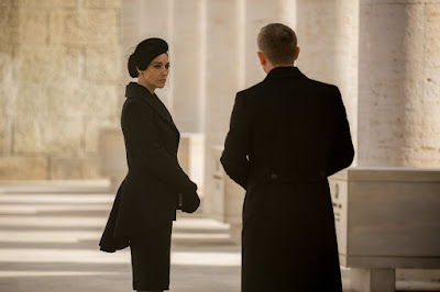 Monica Bellucci and Daniel Craig in Spectre