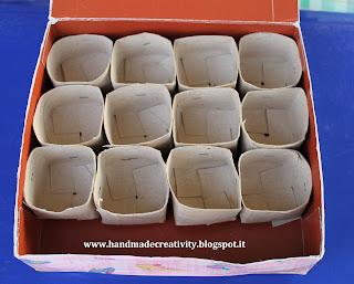 แกนกระดาษชำระ ทำกล่อง แกนกระดาษใช้แล้ว  จัดของให้เป็นระเบียบ 紙箱、紙管は使用される。障害の配置。  Kotak kertas, inti kertas yang digunakan. Penataan gangguan tersebut.
