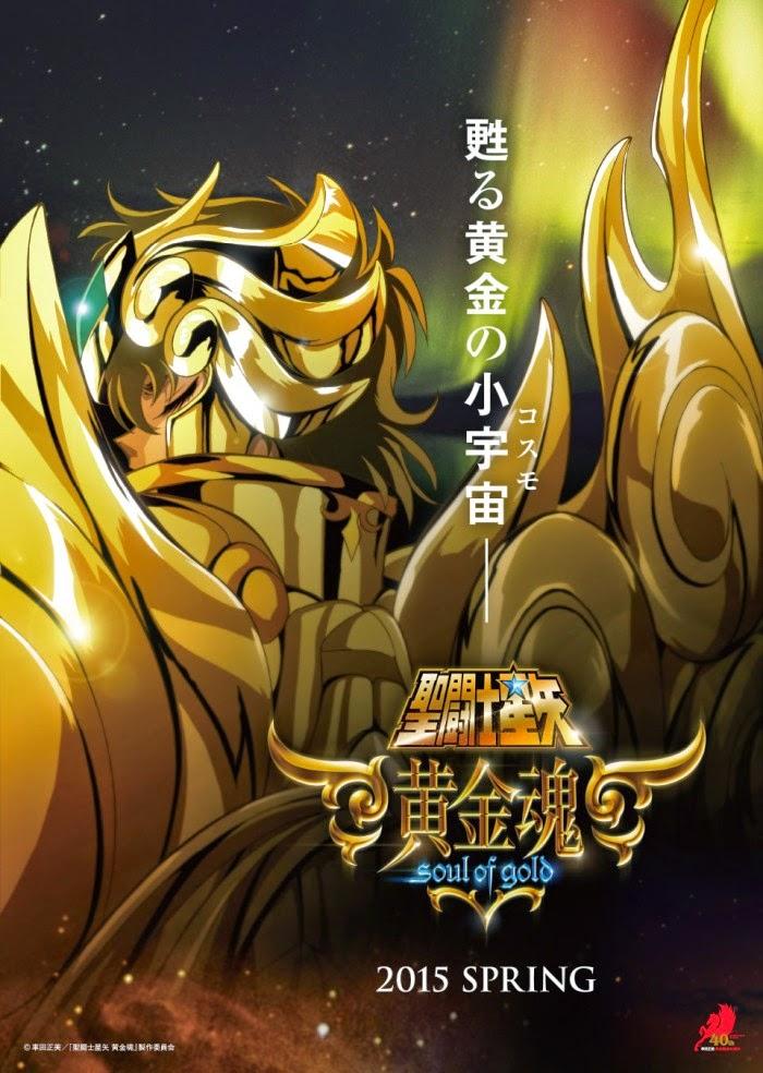 [ Info-Anime ] Serial Anime Baru Saint Seiya Soul Of Gold Akan Tayang Di Musim Semi 2015 Nanti