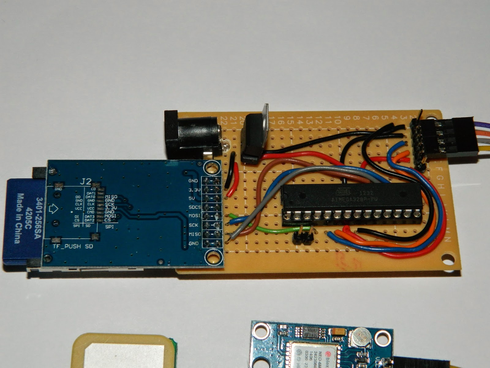 Arduino gps tracker project