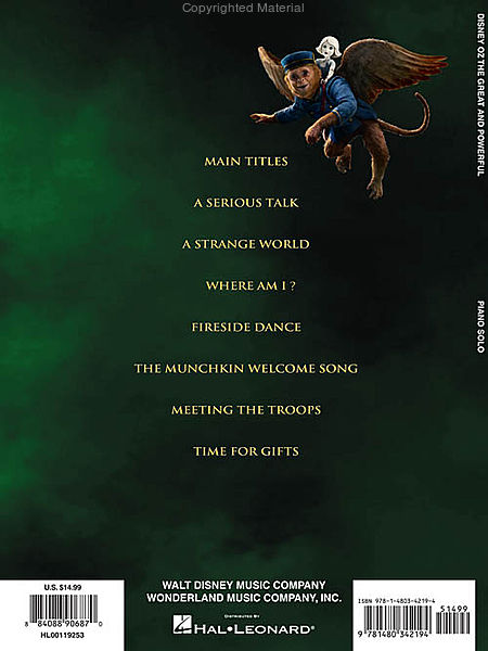 oz the great and powerful book pdf