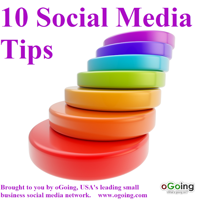 10 Social Media Tips for Small Business by oGoing