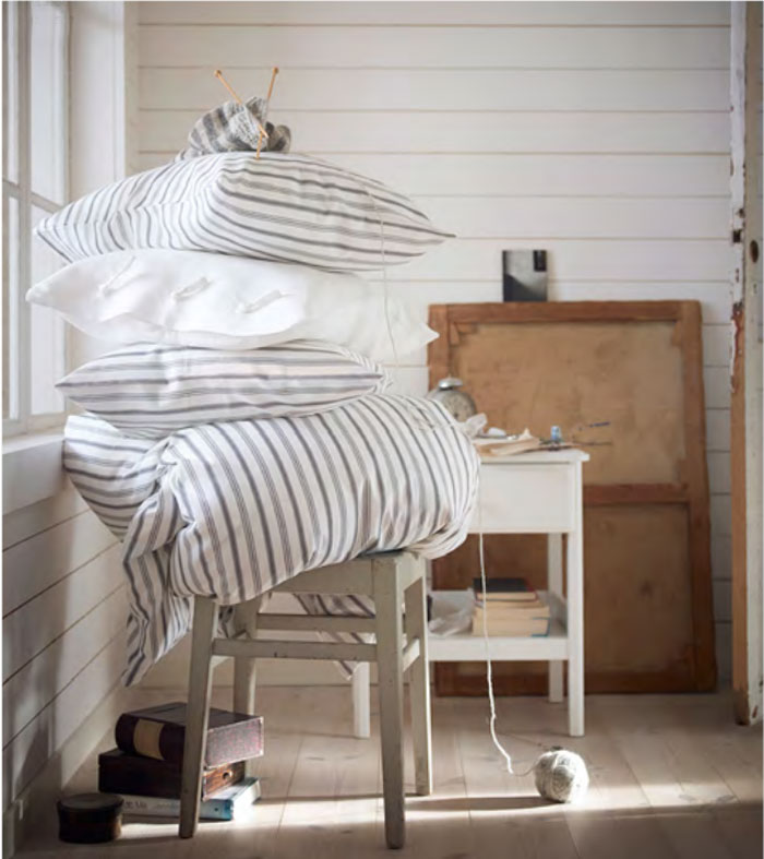 lots of new textiles for the bedroom too including this hostoga duvet