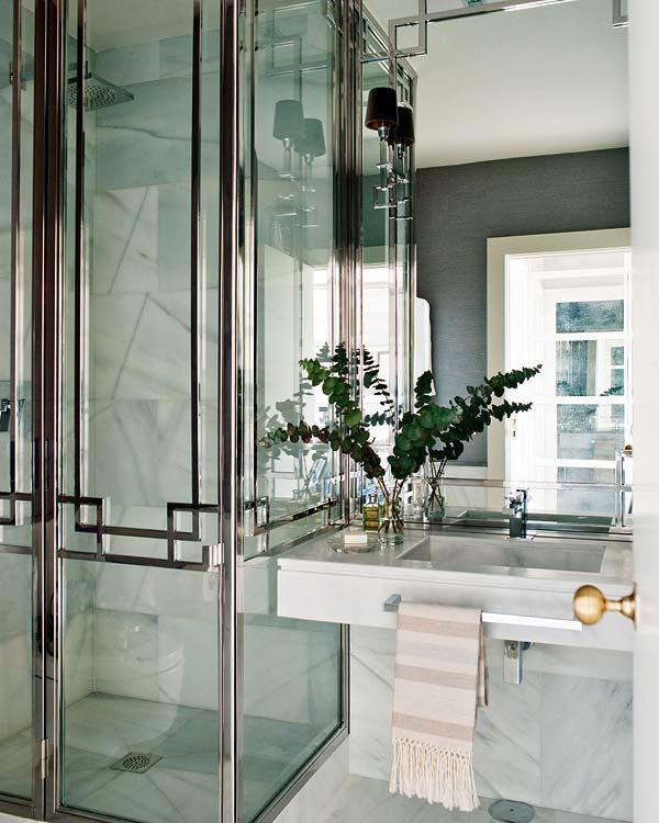 Bathroom Door Frame Design : Are framed shower doors making a comeback design