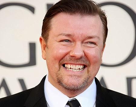 Comediante inglês Ricky Gervais satiriza Quim Barreiros no twitter
